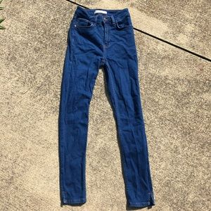 Zara size 2 high waisted jeans